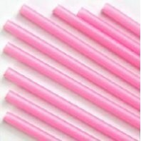 Candy Pink Balloon Sticks 600mm Pack of 100