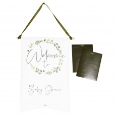 Botanical Baby Party Decorations - Customisable Sign