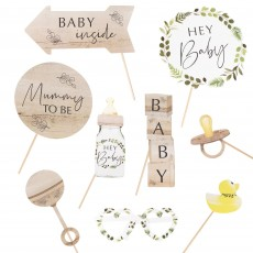 Botanical Baby Photo Props Pack of 10