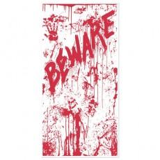 Halloween Bloody Splatters Door Decoration