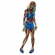 Halloween Party Supplies - Cutouts - Zombie Girl