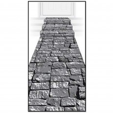 Halloween Party Supplies - Misc Decorations - Stone Path Floor Runner