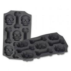 Halloween Skull & Bones Ice Mould Misc Accessorie