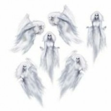 Halloween Party Supplies - Wall Decorations - Ethereal Female Ghosts