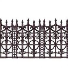 Halloween Creepy Fence Backdrop Border Wall Decoration