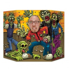 Halloween Zombie Photo Prop