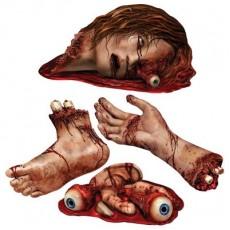 Halloween Body Parts Cutouts