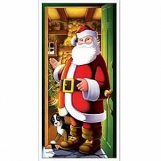 Christmas Santa Door Decoration