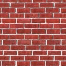 Brown Brick Wall Backdrop Insta-Theme Scene Setter