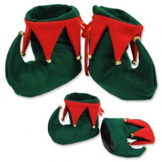 Christmas Elf Felt Boot Shoe