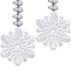 Christmas Snowflake Danglers Hanging Decorations