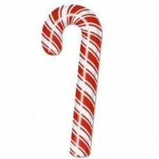Christmas Candy Cane Cutout