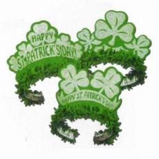 St Patrick's day Glittered Tiara