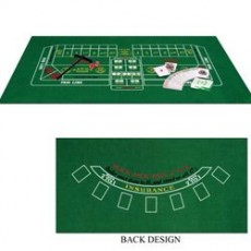 Casino Night Blackjack & Craps Party Game