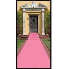 Pink Mock Carpet Floor Runner Misc Decoration