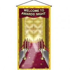 Hollywood Awards Night Poster Door Decoration