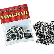 Hollywood Awards Night Clapboard and Filmstrip Confetti 14g