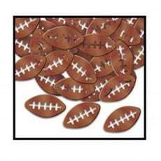 State of Origin Brown Footballs Confetti 28g