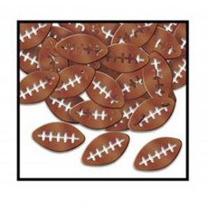 State of Origin Brown Footballs Confetti