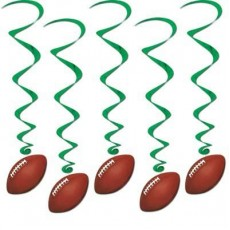 State of Origin Footballs Whirls Hanging Decorations