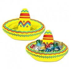 Fiesta Inflatable Sombrero Cooler
