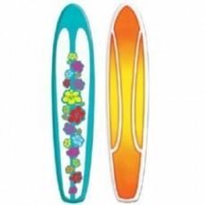 Hawaiian Luau Surfboard Jointed Cutout Misc Decoration