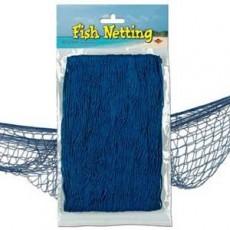 Hawaiian Party Decorations Blue Fish Netting Misc Decorations