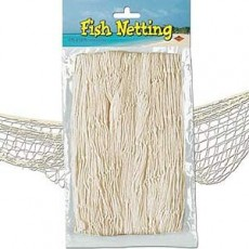 Hawaiian Luau Natural Fish Netting Misc Decoration