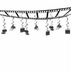 Hollywood Awards Night Movie Set Ceiling Hanging Decoration