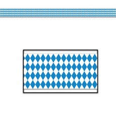 Oktoberfest Blue & White  Party Tape
