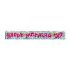 Mother's Day Metallic Fringe Banner