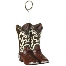 Cowboy & Western Cowboy Boots Photo Holder Balloon Weight