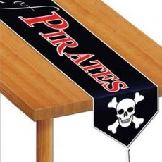 Pirate's Treasure Beware of Pirates Table Runner