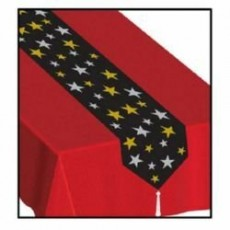 Hollywood Printed Stars Table Runner