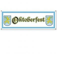 Oktoberfest Sign Banner 53cm x 152cm
