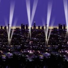 Hollywood Skyline Backdrop Insta-Theme Scene Setter 1.2m x 9.1m