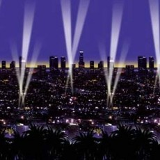 Hollywood Skyline Backdrop Insta-Theme Scene Setter