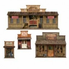 Cowboy & Western Wild West Town Prop Insta-Theme Scene Setters