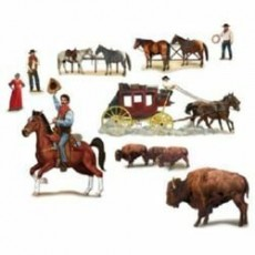 Cowboy & Western Wild West Characters Prop Insta-Theme Scene Setters