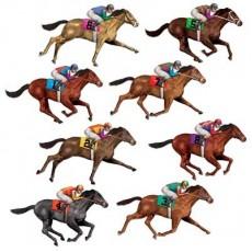 Horse Racing Race Horses Wall Decorations Insta-Theme Props Misc Decorations