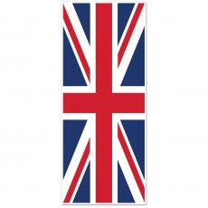 British Party Decorations - Door Decoration Union Jack