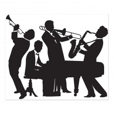 Great 1920's Jazz Band Backdrop Scene Setter