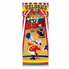Big Top Circus Tent Door Decoration