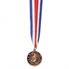 Award Bronze 3rd Place Sports Medal Party Supplies -