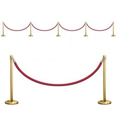Hollywood Awards Night Stanchion Barriers Props Wall Decorations