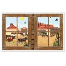 Cowboy & Western Western Window Props Insta-View Scene Setter