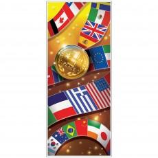 International Sports Door Decoration