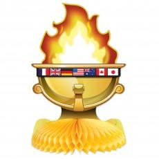 International Sports Honeycomb Centrepiece