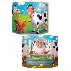 Farmhouse Fun Party Supplies - Photo Prop Farm Yard Animals