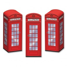 British Telephone Boxes Favour Boxes